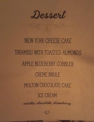 dessert-menu